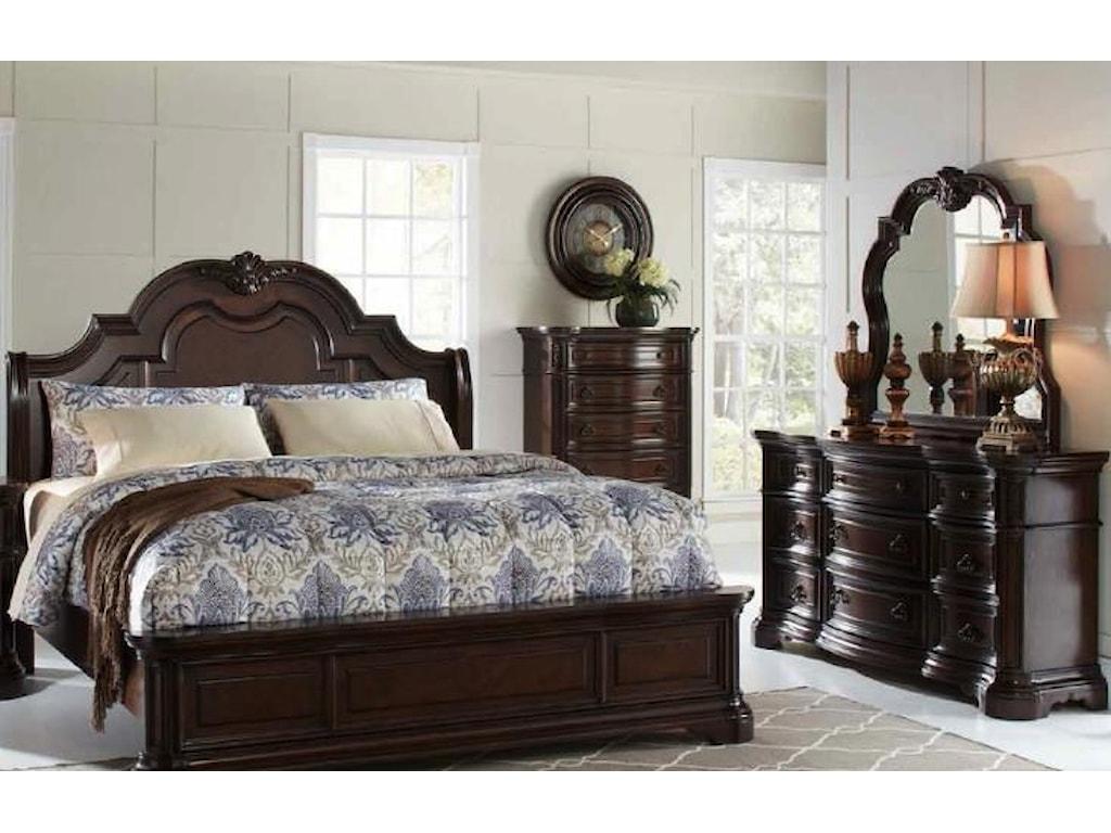 Home Insights AlexandriaQueen Sleigh Bed