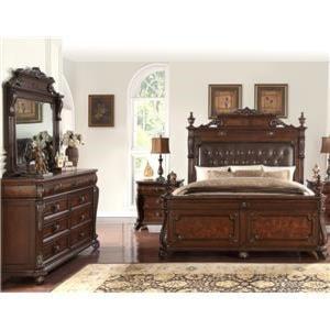 Royal Bedroom Furniture | Queen Bedroom Sets Bedroom Groups Royal Furniture