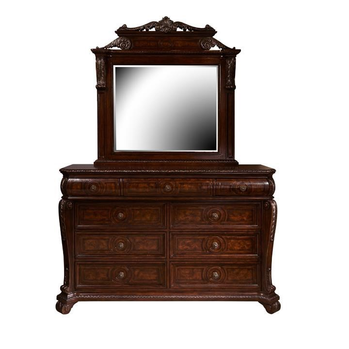 Ordinaire Home Insights VintageDresser And Mirror ...