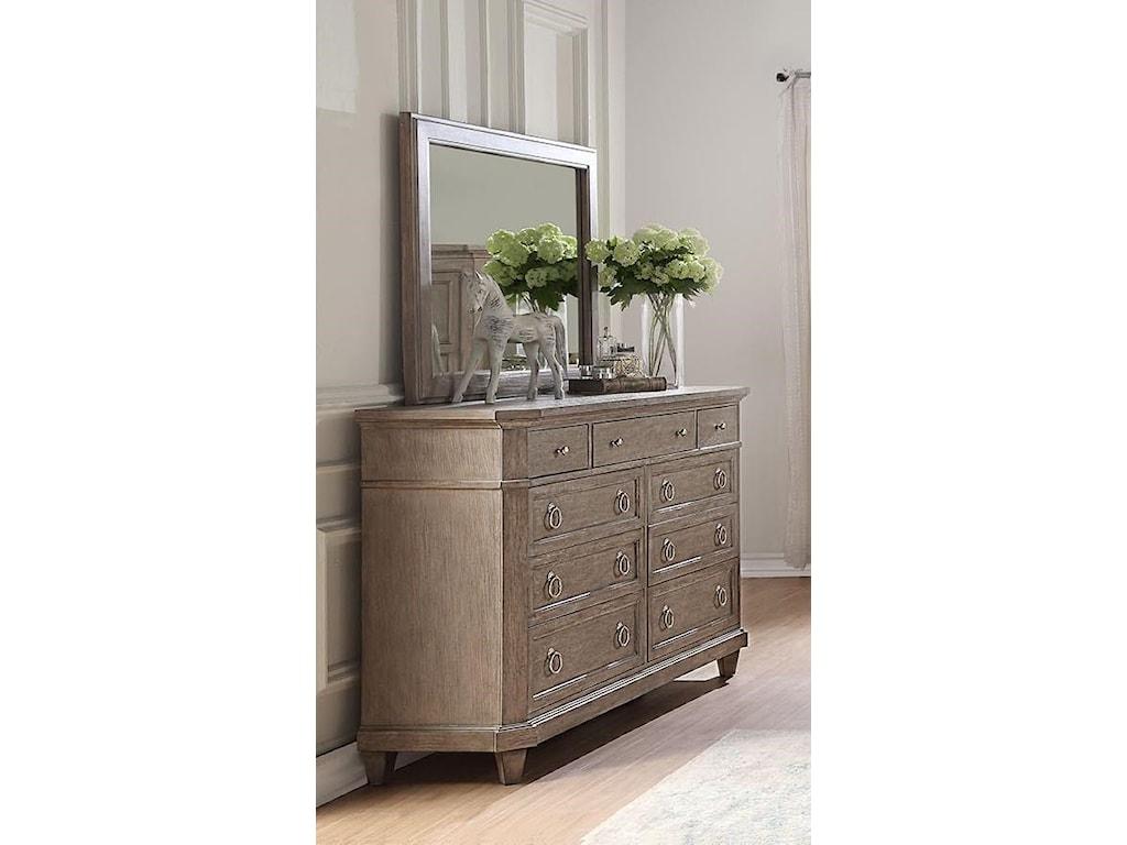 Home Insights NewportDresser & Mirror Set