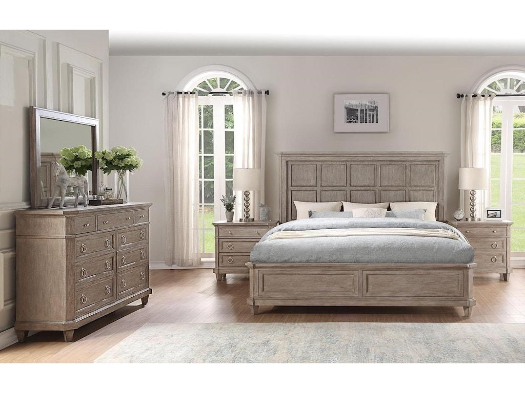 Home Insights NewportQueen Panel Bed