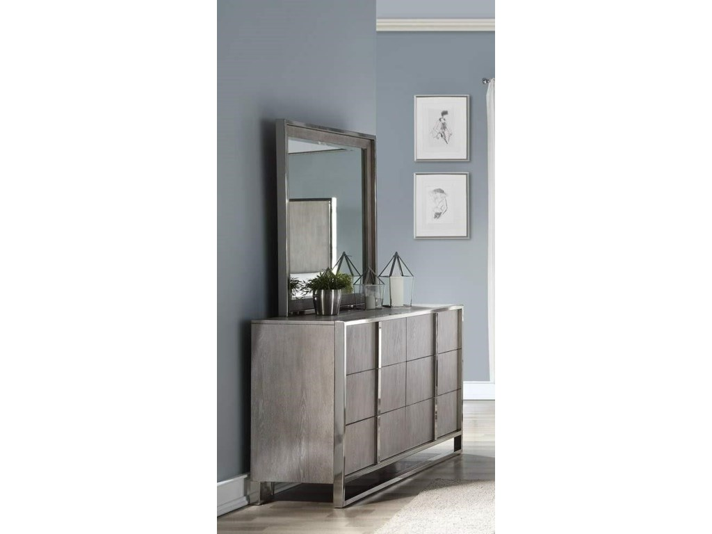 Home Insights Grand LoftDresser and Mirror
