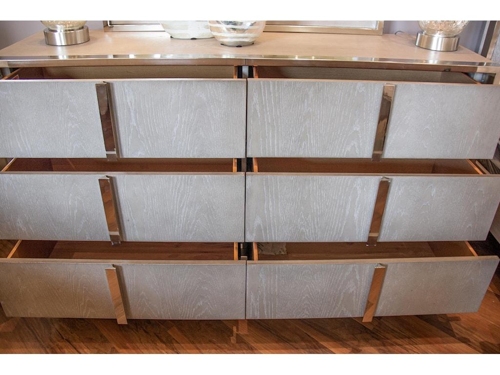 Home Insights Grand LoftKing Bed, Dresser, Mirror & Nightstand