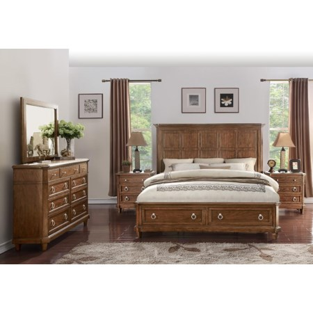 Queen Storage Bedroom