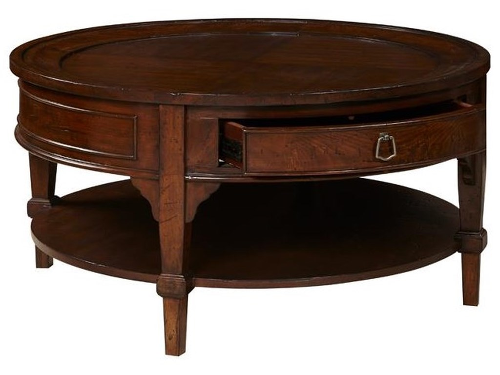 Home Insights SinclairRound Cocktail Table