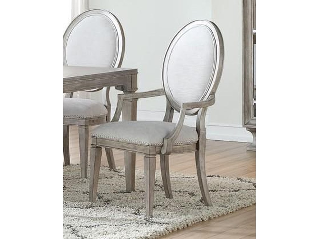 Home Insights ManhattanOval Back Arm Chair