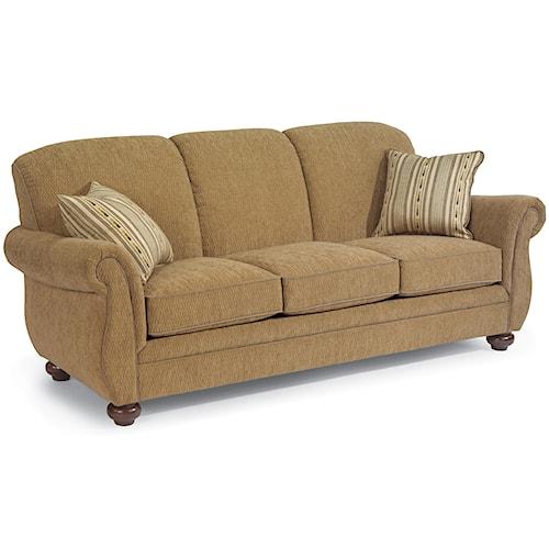 Flexsteel Winston Three-Seat Stationary Sofa