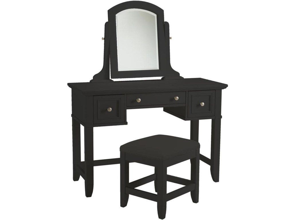 Home Styles BedfordBlack Vanity Bench