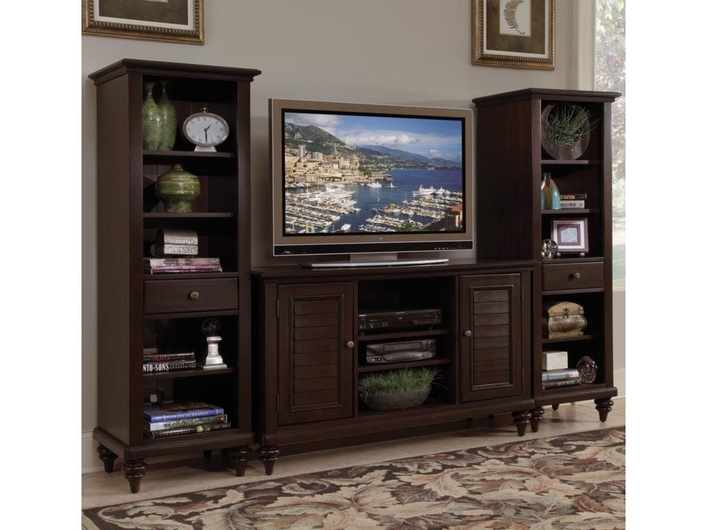 Home Styles Bermuda3 Piece Entertainment Center