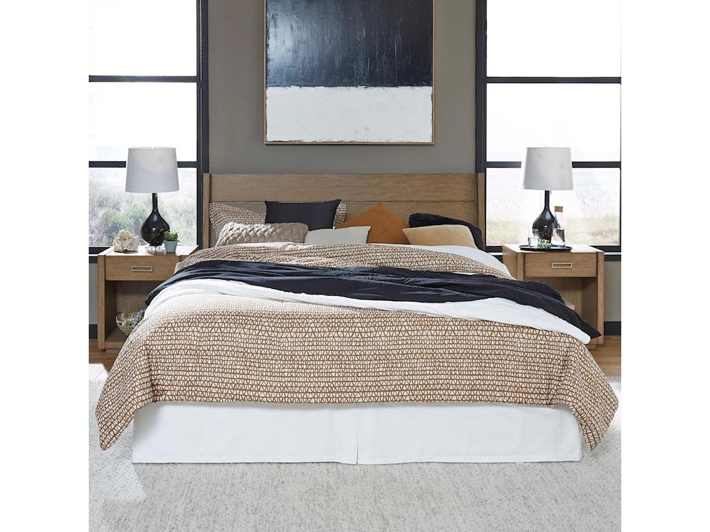 Homestyles Big SurKing Bedroom Group