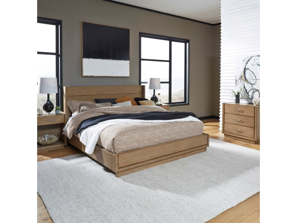 Homestyles Big SurKing Bedroom Group