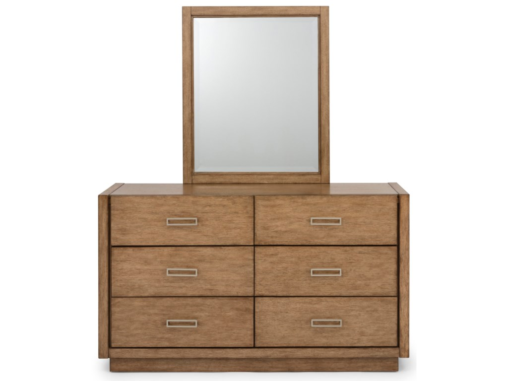 Homestyles Big SurDresser and Mirror Set