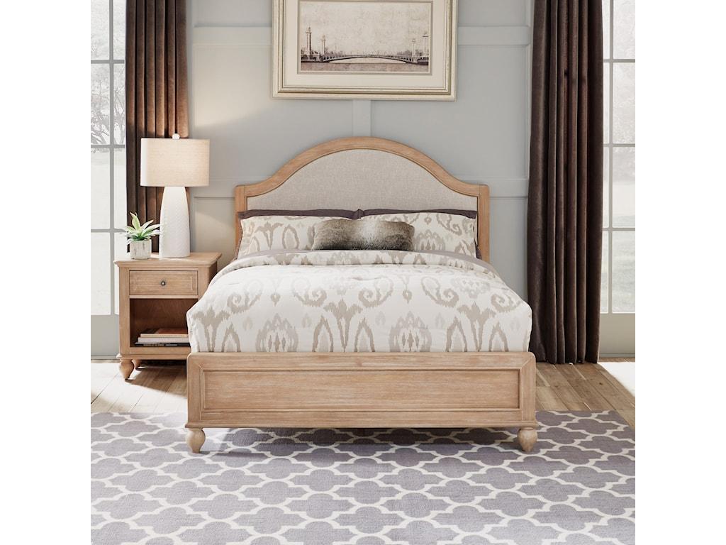 Homestyles CambridgeQueen Bed & Nightstand