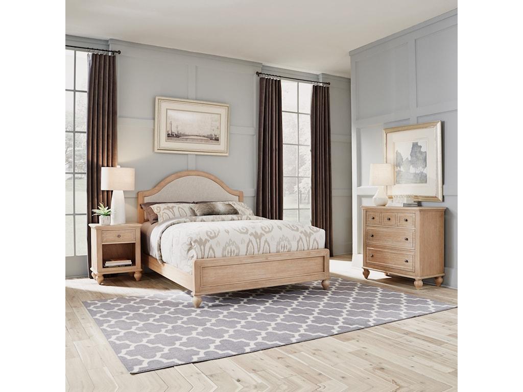 Homestyles CambridgeQueen Bed, Nightstand & Chest