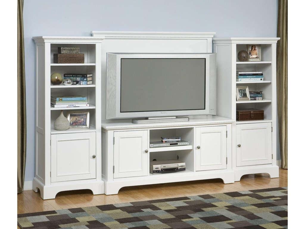 Home Styles Naples Entertainment Wall Unit