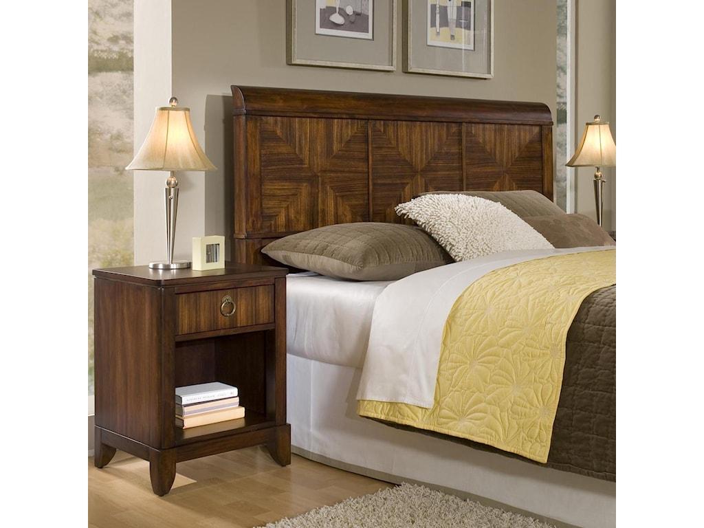 Home Styles Paris Queen Bed