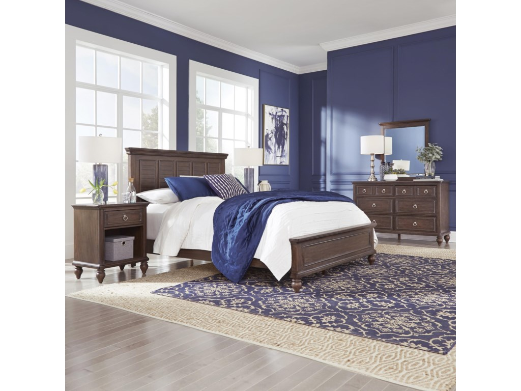 Homestyles SouthportQueen Panel Bed