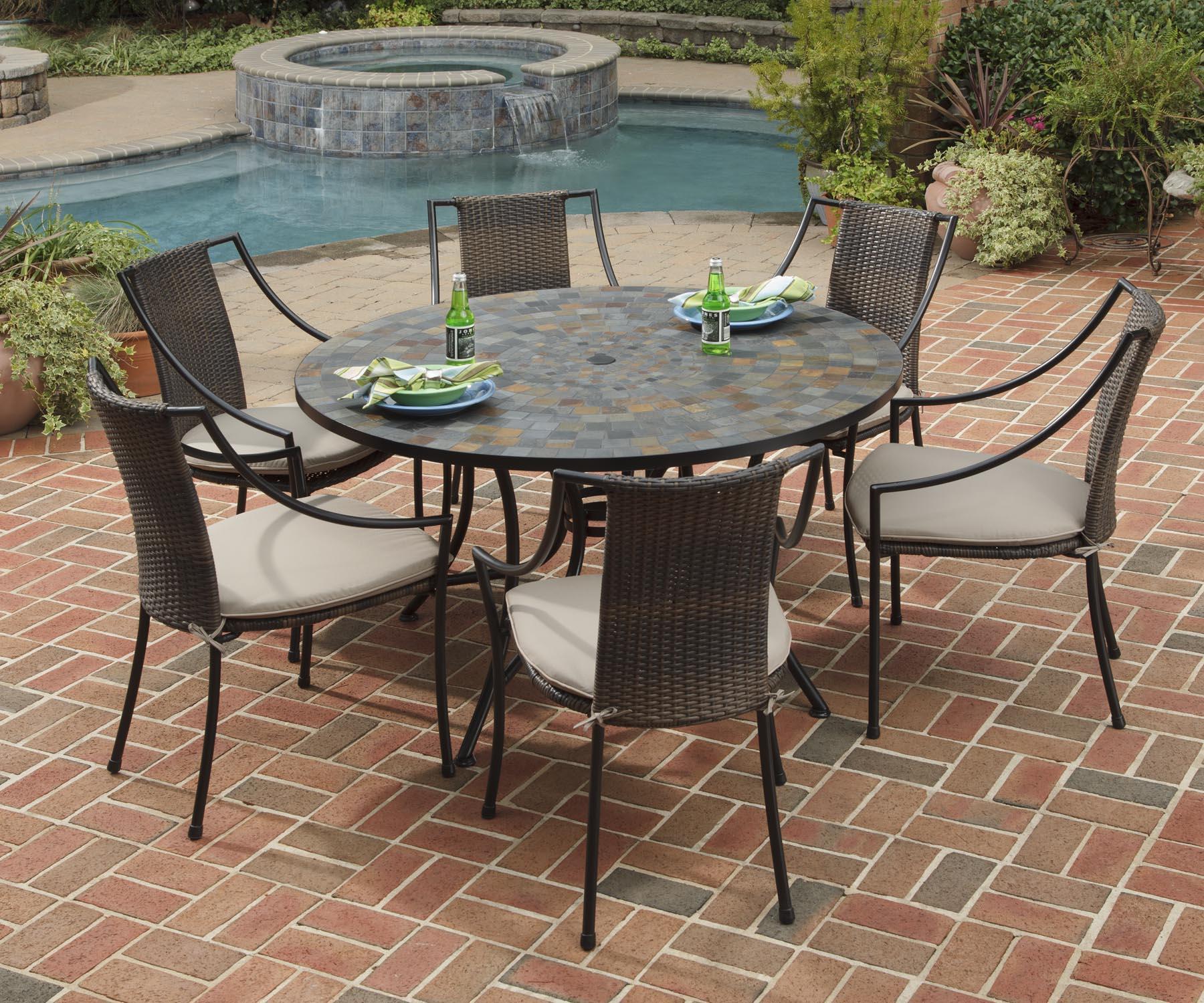 Nice Home Styles Stone Harbor7 Piece Patio Dining Set ...
