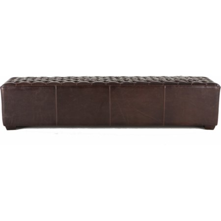 "D'orsay 81"" Tufted Bench"