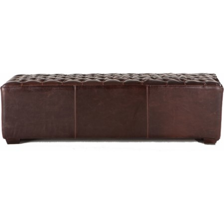 """D'orsay 58"""" Tufted Bench"""