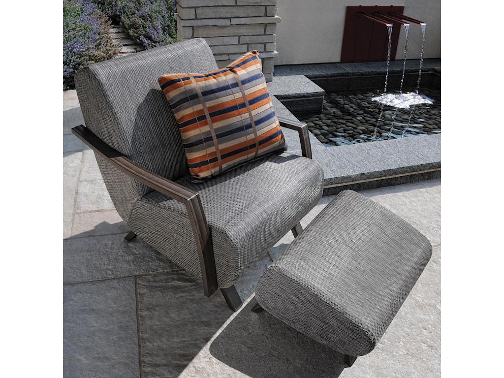 Homecrest Airo2Arm Chair and Ottoman