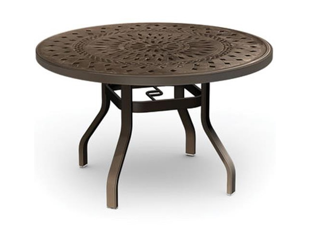 Homecrest Camden CastRound Dining Table
