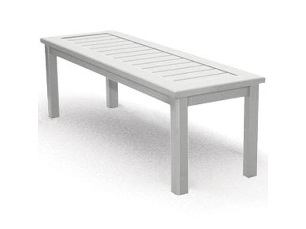 Homecrest Dockside SlatRectangular Bench