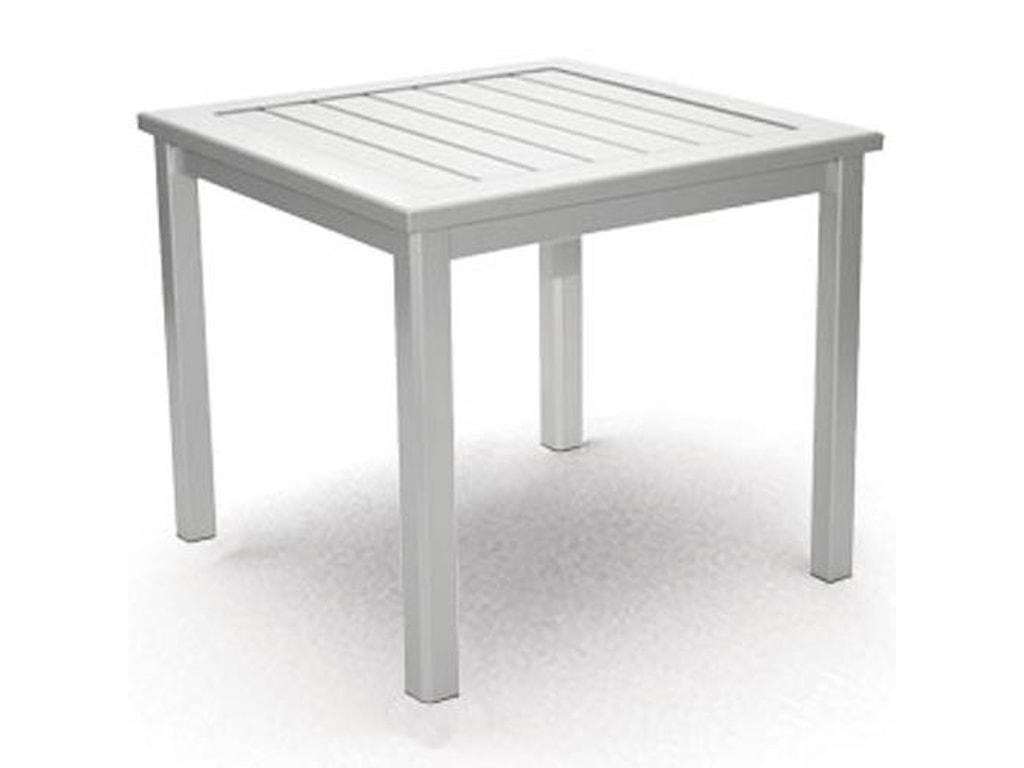 Homecrest Dockside SlatEnd Table