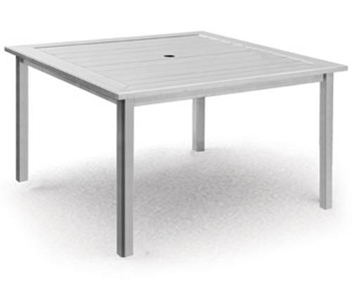 Homecrest Dockside SlatSquare Chat Table