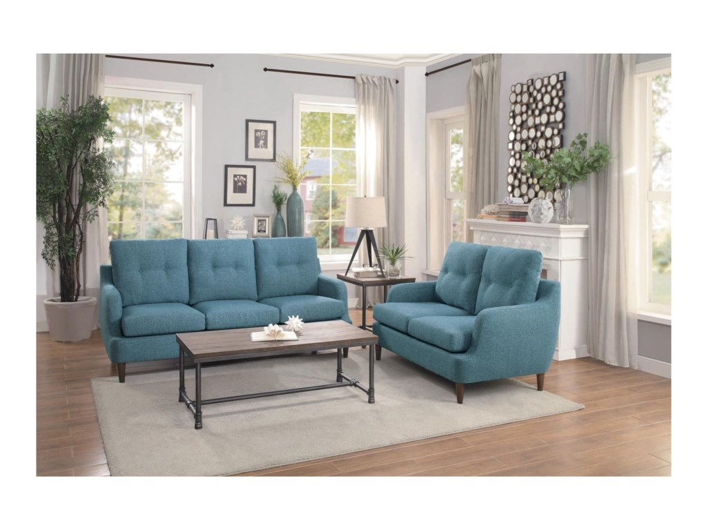 Homelegance CagleStationary Living Room Group