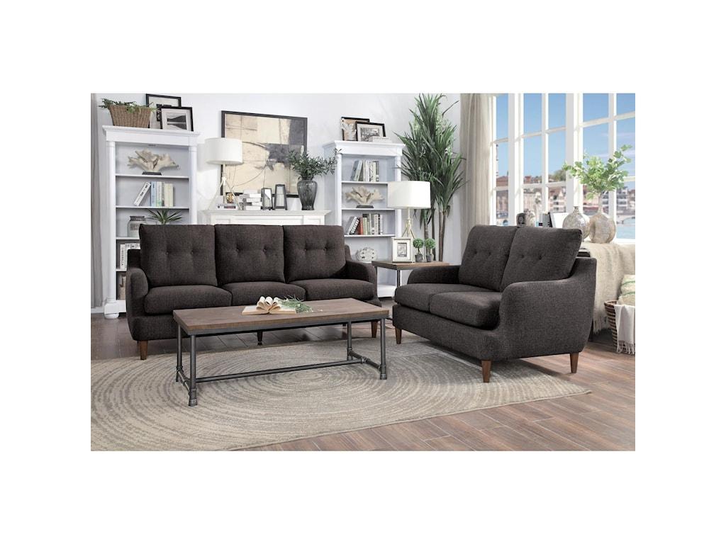 Homelegance Furniture CagleStationary Living Room Group