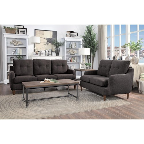 Homelegance Cagle Stationary Living Room Group