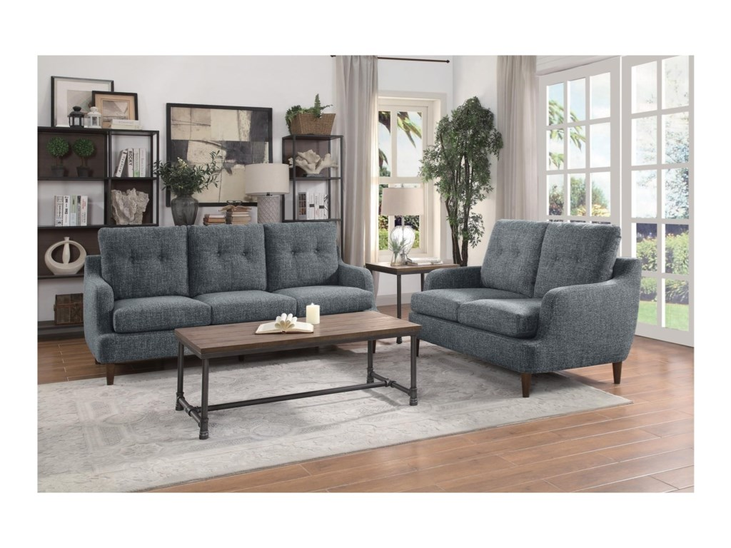 Elegance CagleStationary Living Room Group