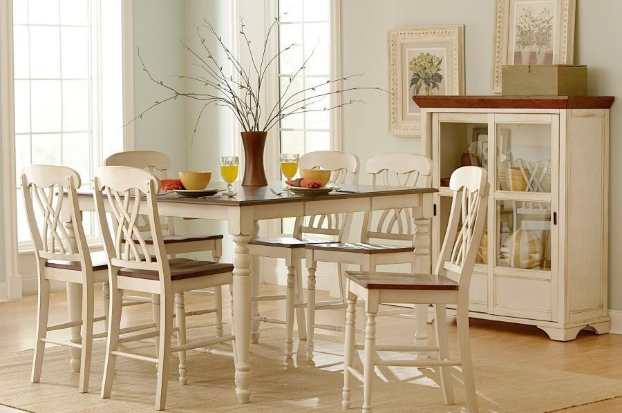 Set of 2 Counter Height Side Chairs
