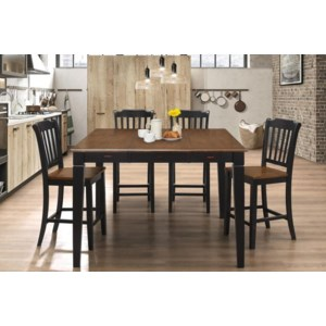 Homelegance Ohana Square Dining Table W Butterfly Leaf Dream Home Interiors Kitchen Tables