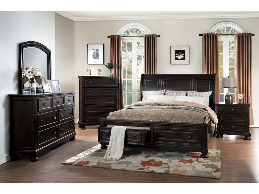 complete products classic drawer california with legacy cal low drawers furniture w king storage by platform or profile bed two