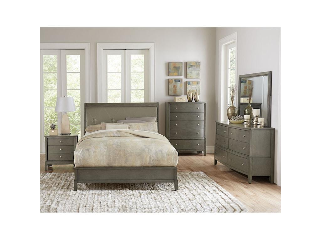 Elegance CotterillKing Bedroom Group