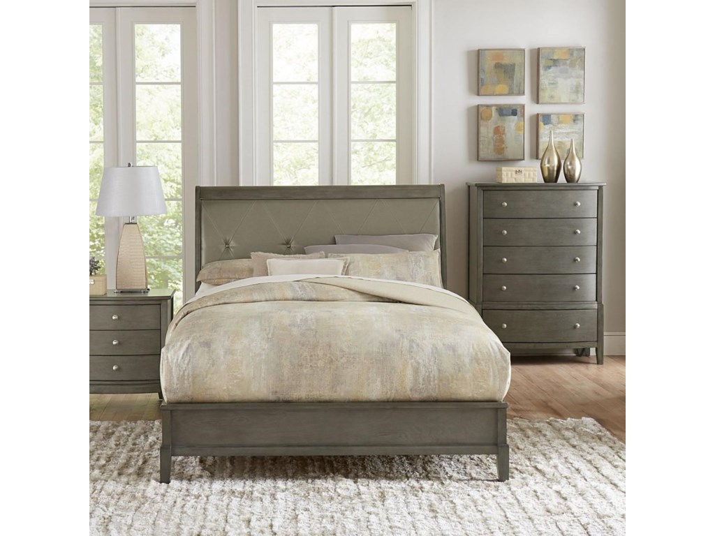 Homelegance CotterillQueen Upholstered Bed