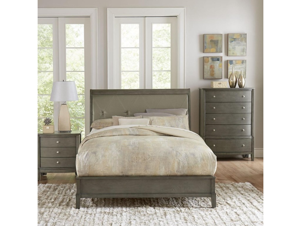 Homelegance CotterillKing Upholstered Bed
