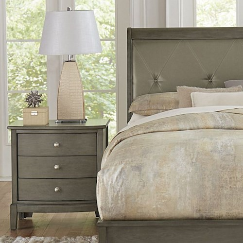 Homelegance Cotterill Contemporary Night Stand