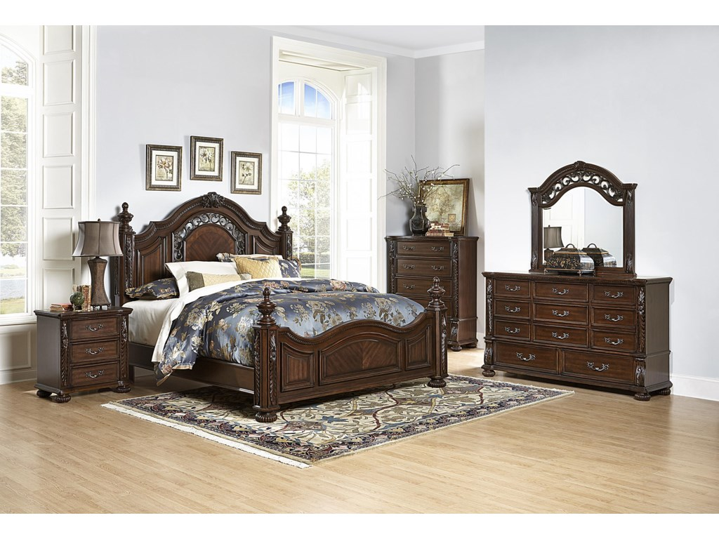 Homelegance Augustine CourtQueen Bed