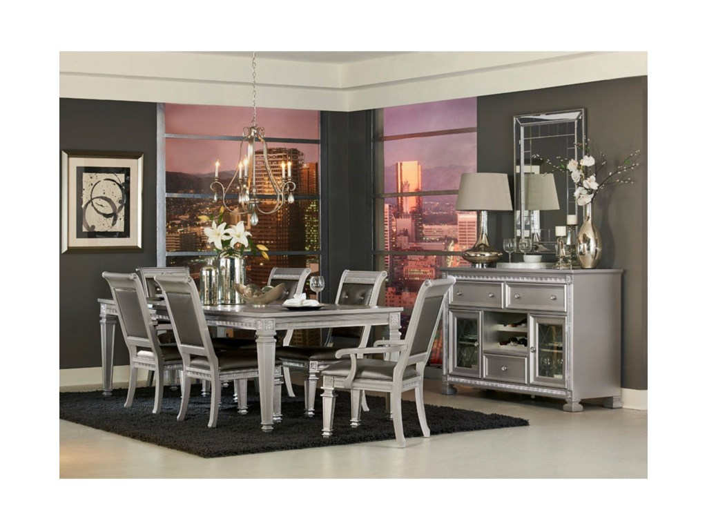 Homelegance 1958Glam Dining Room Group