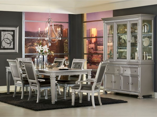 Glam Dining Room Group