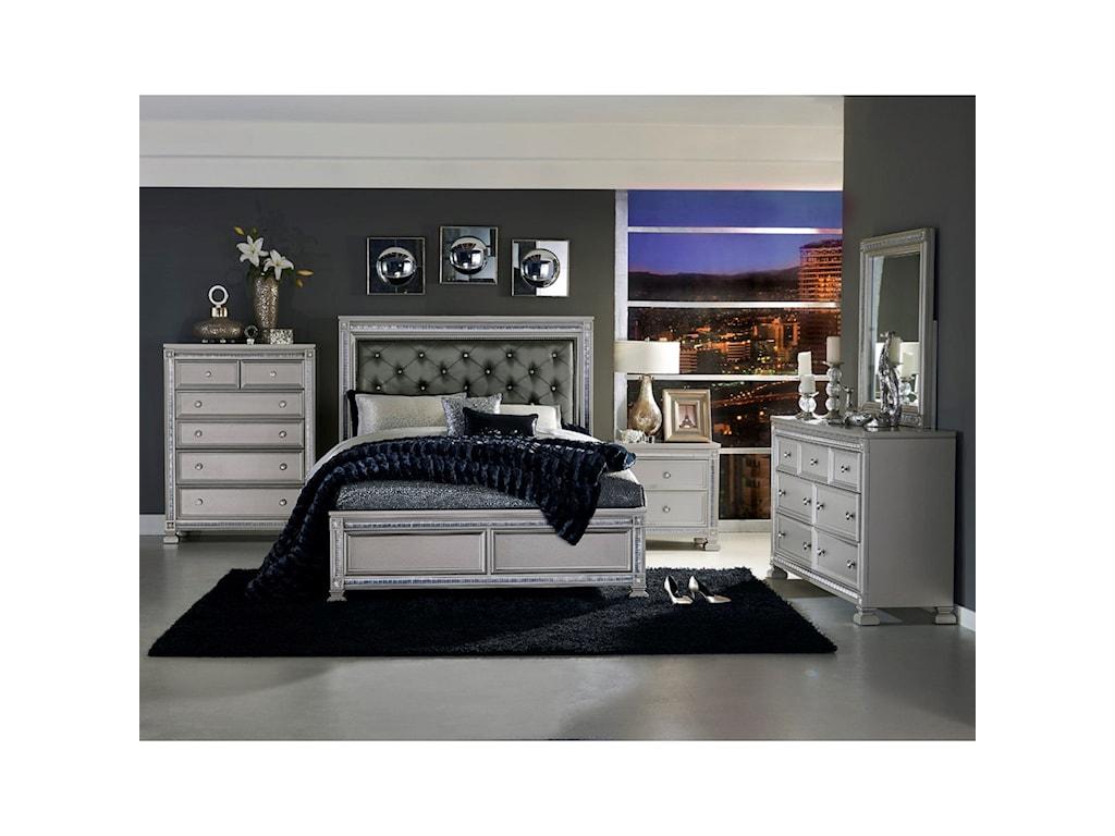 Elegance 1958Queen Bedroom Group
