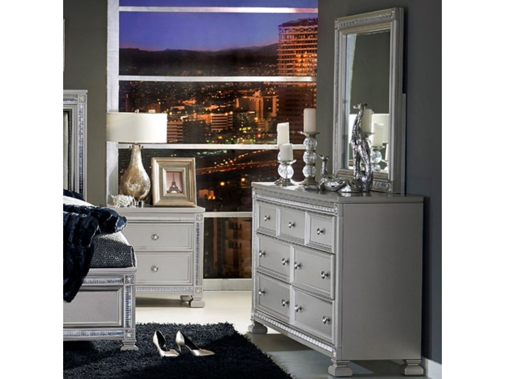 Elegance 1958Glam Dresser and Mirror