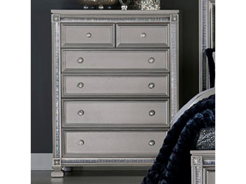 Elegance 1958Glam Chest of Drawers