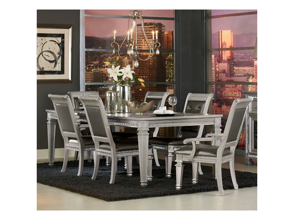 Homelegance 1958Glam Table and Chair Set