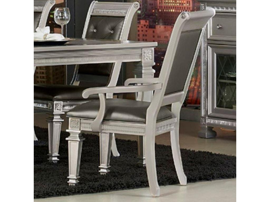 Elegance 1958Glam Dining Arm Chair