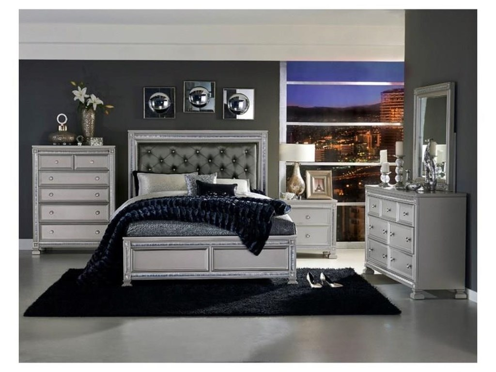 Homelegance 1958King 6 Piece Bedroom Set