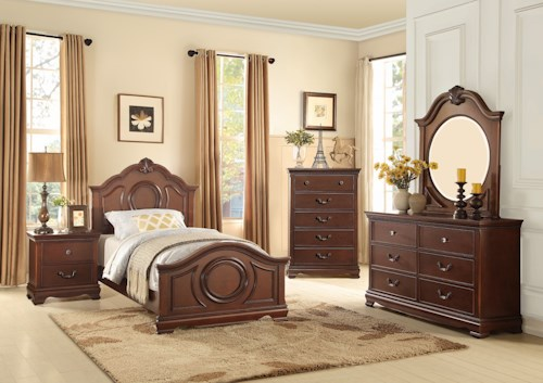 Homelegance (Clackamas Only) 2039C Traditional Full Bedroom Group